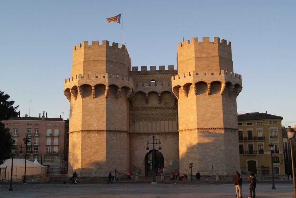 architecture, towers, valencia